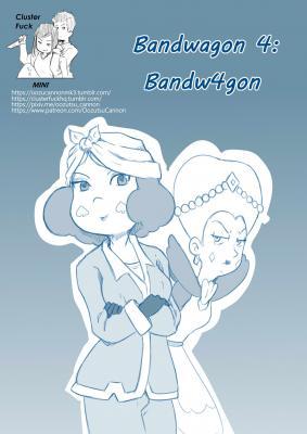 Bandwagon 4 Bandw4gon - page00 Cover BurnButt
