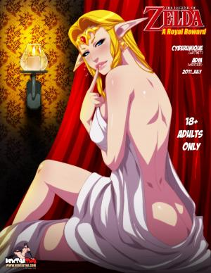 A Royal Reward (Spanish) - page00 Cover BurnButt