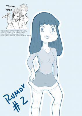 Rumor #2 (English) - page00 Cover BurnButt