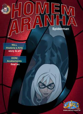Homem Aranha - Spiderman (English) - page00 Cover BurnButt