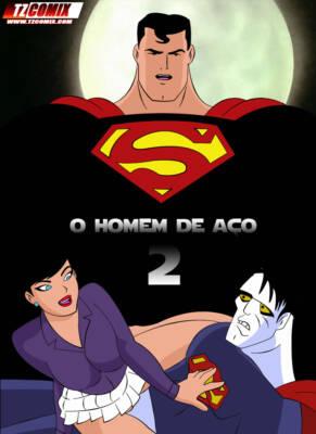O Homem de Aco 2 (Portuguese) - page00 Cover BurnButt