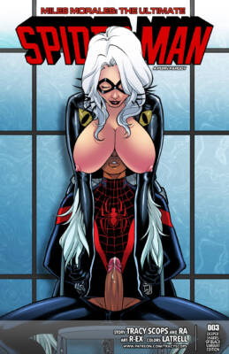 Ultimate Spider-Man #3 - page00 Cover BurnButt