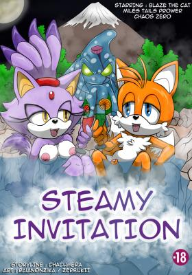 Steamy Seduction (English) - page00 Cover BurnButt