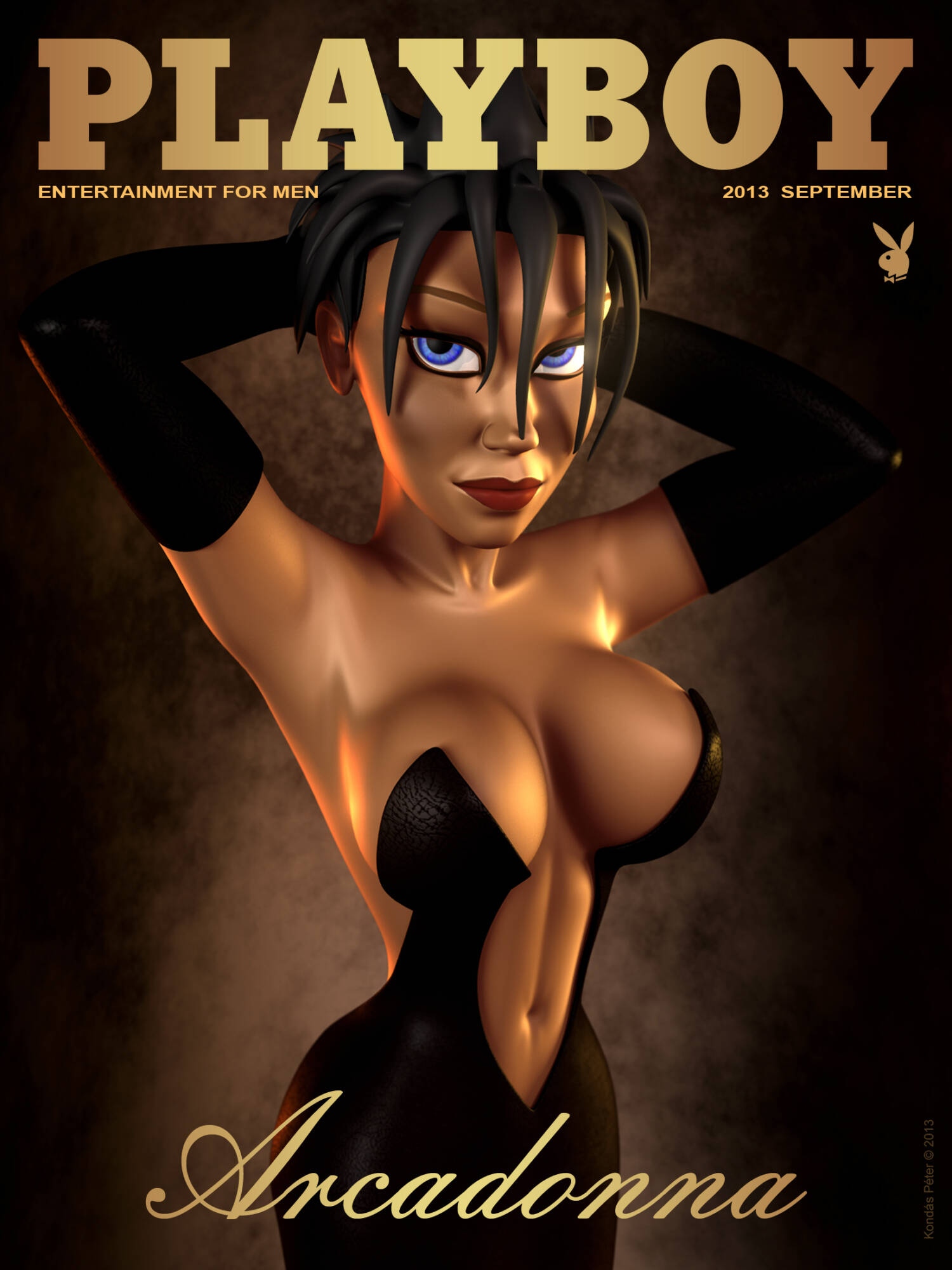 Arcadonna - Page07 Arcadonna On Playboy Cover A Fox's Tale,  xxx porn rule34