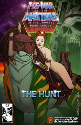 The Hunt (Russian) - page00 Cover BurnButt