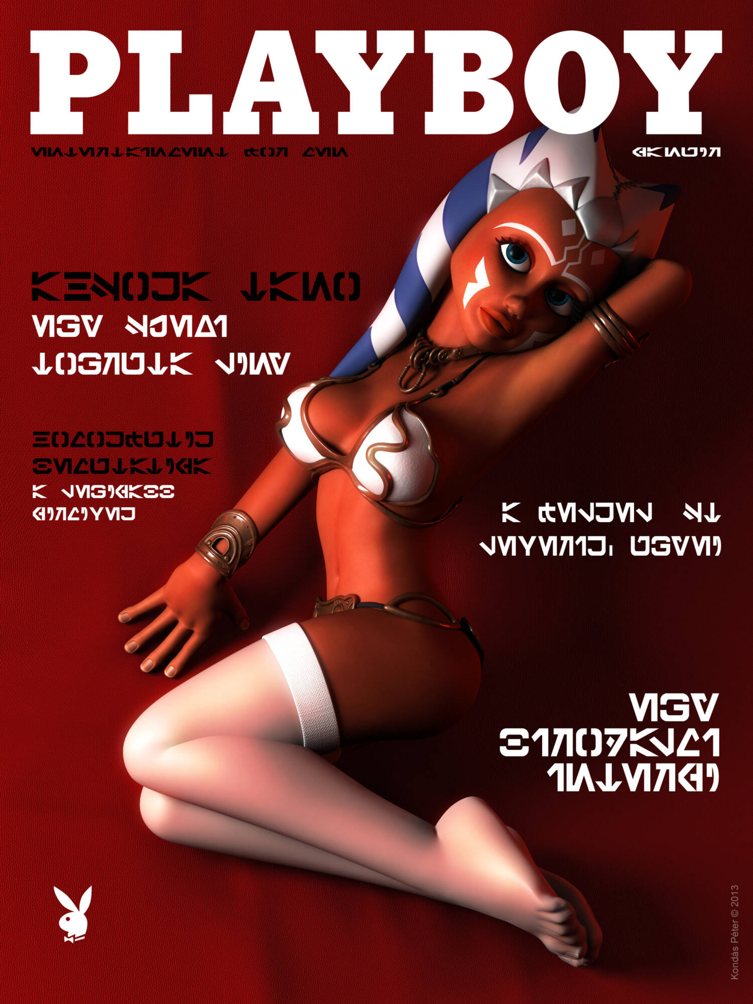 Playboy Covers and Centerfolds - page05 Ahsoka Tano On Playboy Cover A Fox's Tale,Crossover,Planet 51,Smurfs,Star Wars,  xxx porn rule34
