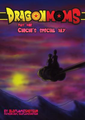 Dragon Moms Part One - Chichis Special Day - p00 Cover BurnButt