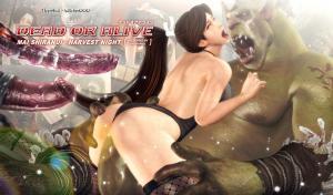 Mai Shiranui - Harvest Night (Russian) - page00 Cover BurnButt