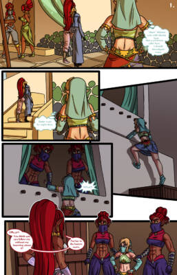 Zeldas Rescue - page01 BurnButt