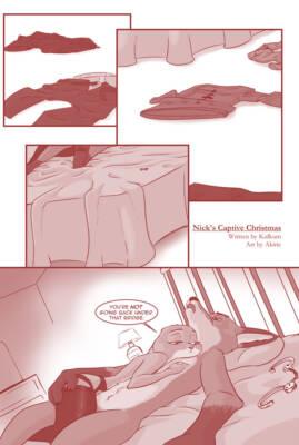 Nick's Captive Christmas #1 - page01 BurnButt