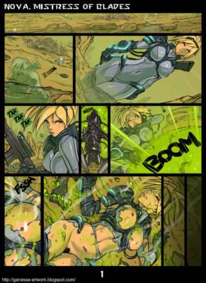 Nova, Mistress of Blades (English) - page01 BurnButt