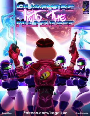 Quagmire Into The Multiverse - page00 Cover BurnButt