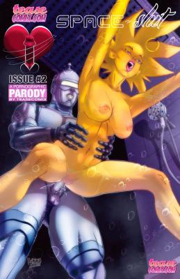 Space Slut Issue #2 - page00 Cover BurnButt