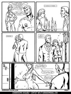 Subjugating Scarlett part.1 (Mono) - page01 BurnButt