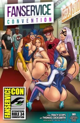 Fan-Service Con (English) - page00 Cover BurnButt