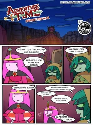 Before the War (Spanish) - page01 BurnButt