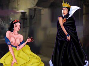 Princess and the Queen Have Hot Lesbian Sex - page01 BurnButt