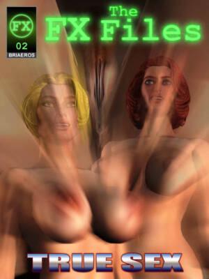 The FX Files - True Sex (English) - page00 Cover BurnButt