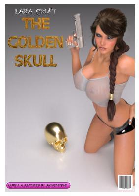 The Golden Skull (Polish) - page00 Cover BurnButt