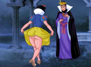 The Queen Seduces Princess - page01 BurnButt