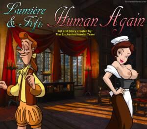 Human Again - page00 Cover BurnButt