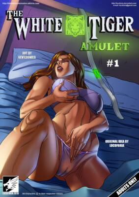 The White Tiger Amulet #1 (English) - page00a Cover BurnButt