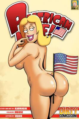 American Milf #2 (English) - page00 Cover BurnButt
