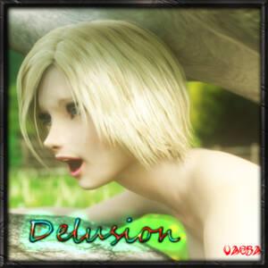 Delusion - page00 Cover BurnButt
