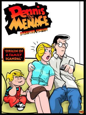 Dennis The Menace Origins (English) - page00 Cover BurnButt