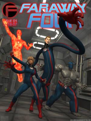 Far Away Four! (English) - page00 Cover BurnButt