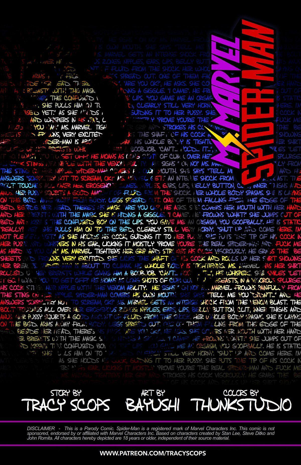Ms. Marvel Spider-Man 2 (English) - page00 Info Marvel Universe,Spider-Man,  xxx porn rule34