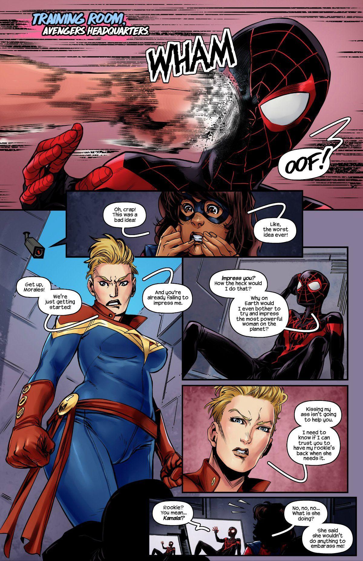 Ms. Marvel Spider-Man 2 (English) - page01 Marvel Universe,Spider-Man,  xxx porn rule34