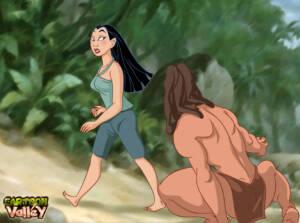 Mulan Gets a Hard Fuck and A Sticky Creampie From Tarzan! - p01 BurnButt
