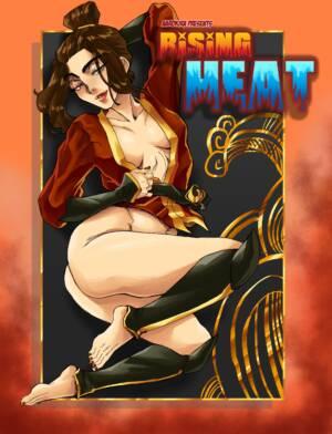 Rising Heat (Russian) - page00 Cover BurnButt