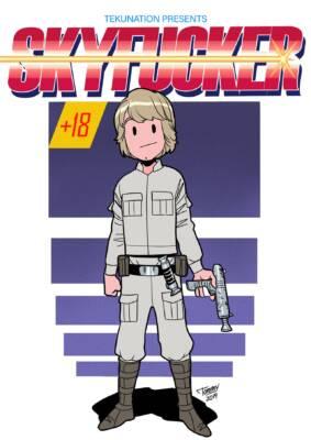 Skyfucker (Spanish) - page00 Cover BurnButt