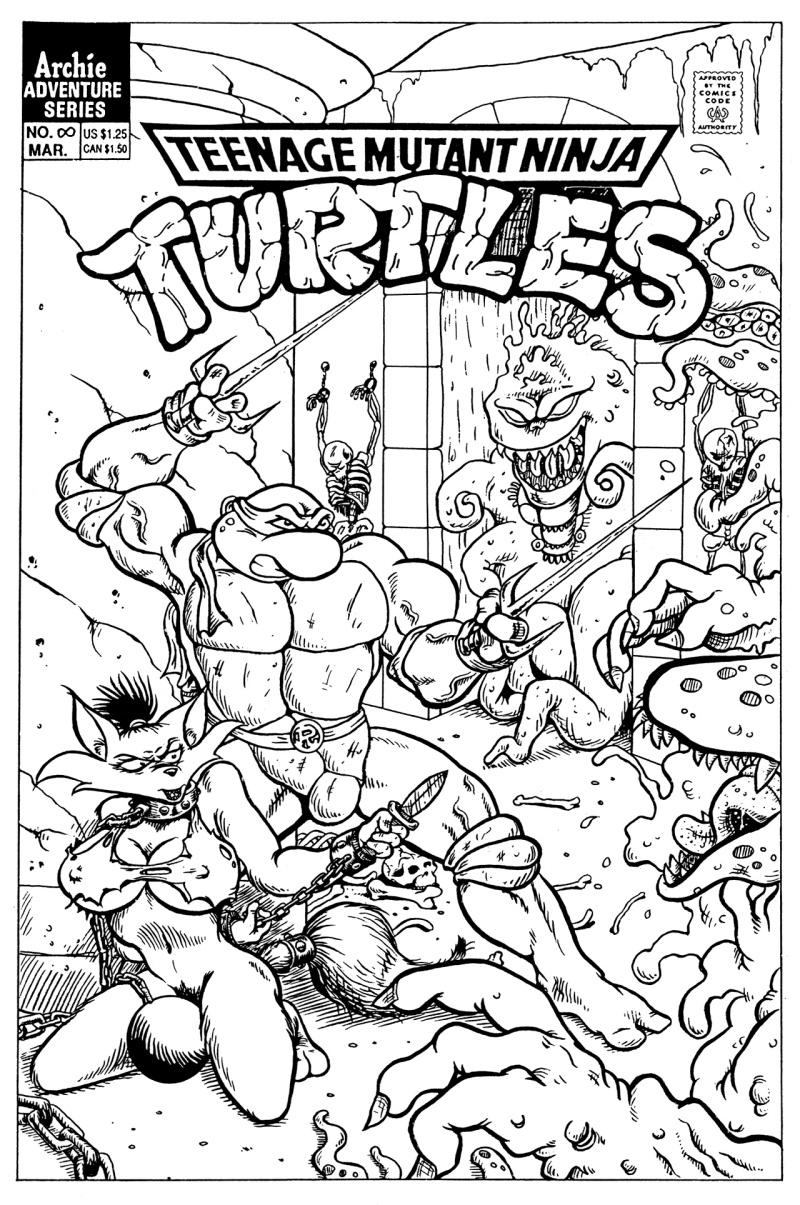 Teenage Mutant Ninja Turtles hentai comic - page01 Teenage Mutant Ninja Turtles,  xxx porn rule34