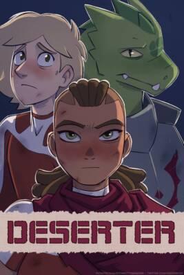 Deserter (English) - page00 Cover BurnButt