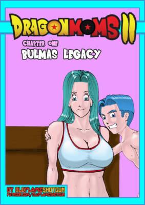 Dragon Moms 2 Part 1 - Bulmas Legacy (English) - page00 Cover BurnButt