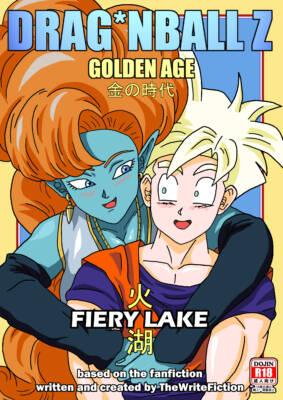 Gohan X Zangya - Fiery Lake (Color) - page00a Cover BurnButt