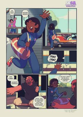 Gregonnie (Spanish) - page01 BurnButt