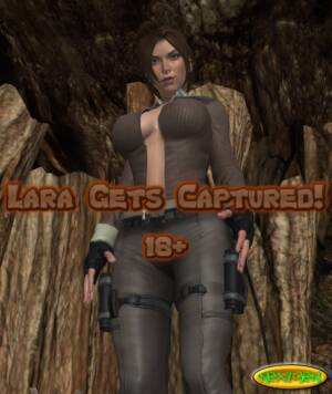 Lara Gets Captured! (English) - page00 Cover BurnButt
