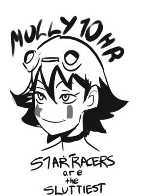 Molly 10hr Star Racers Are The Sluttiest - page00 Cover BurnButt