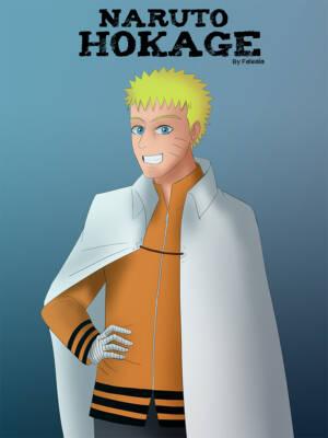 Naruto Hokage 1 (Spanish) - page00 Cover BurnButt
