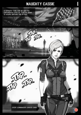 Naughty Cassie (English) - page01 BurnButt