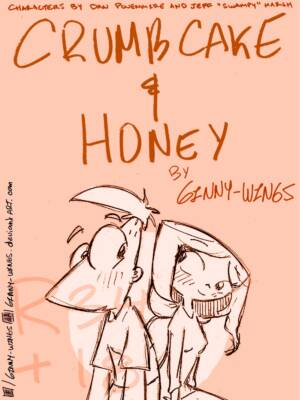 Phineas and Isabella - Crumbcake and Honey (Spanish) - page00 Cover BurnButt