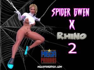 Spider Gwen x Rhino Part 2 (English) - page00 Cover BurnButt