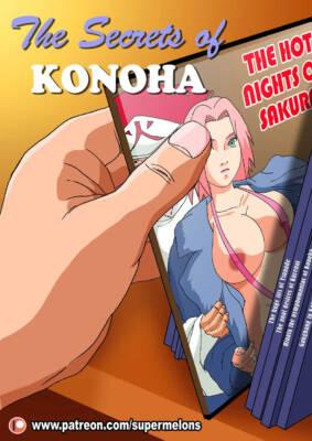 The Secrets of Konoha (English) - page000 Cover BurnButt