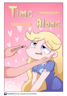 Time Alone (English) - page00 Cover BurnButt