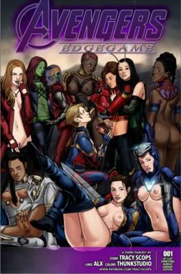 Avengers Edge Game (Spanish) - page00 Cover BurnButt