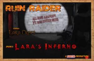 Laras Inferno (English) - page00 Cover BurnButt